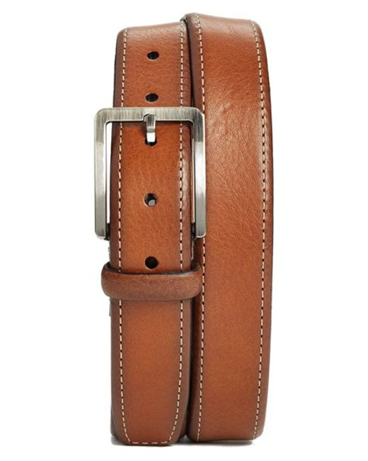 Trafalgar | Brown 'austin' Leather Belt for Men | Lyst