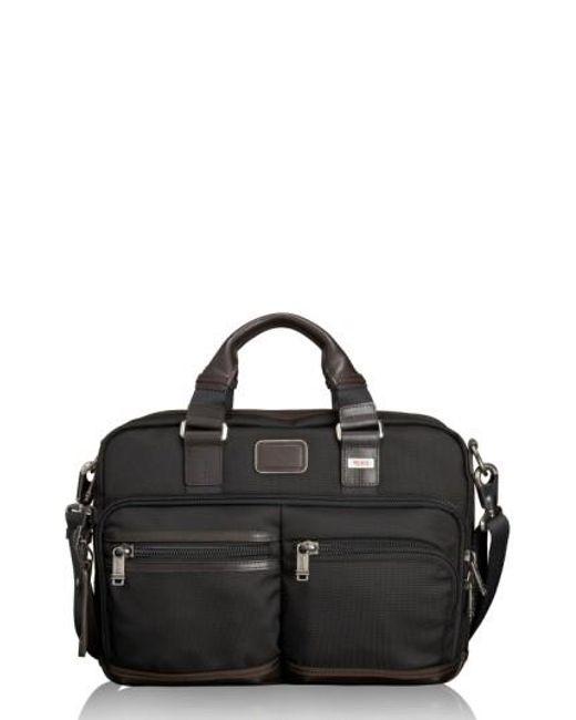 Tumi | Brown 'alpha Bravo - Anderson' Commuter Briefcase for Men | Lyst