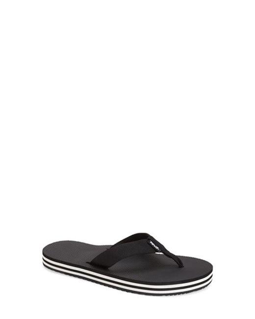 Teva | Black 'deckers' Flip Flop | Lyst