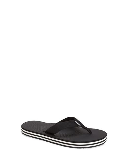 Teva | Black Deckers Woven Flip-Flops | Lyst