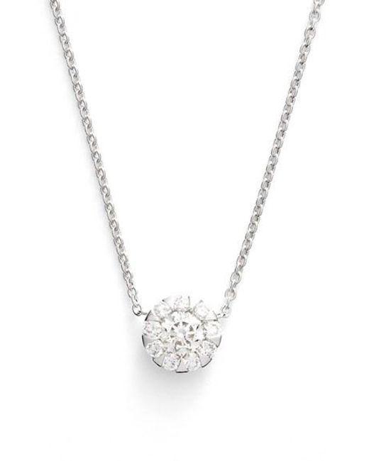 Kwiat | Metallic 'sunburst' Diamond Pendant Necklace | Lyst