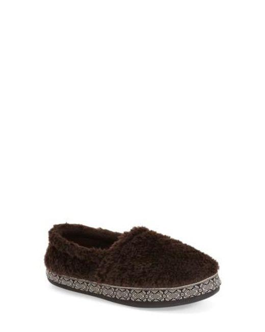 Woolrich | Brown 'whitecap' Slipper | Lyst
