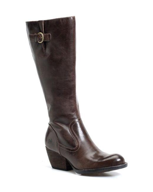 Børn | Brown Freeda Tall Leather Boots | Lyst