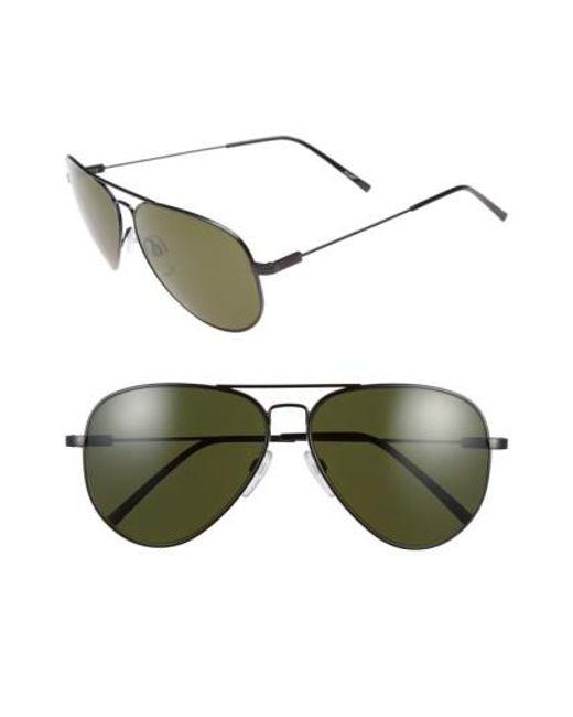 Electric | Black 'av1 Xl' 62mm Aviator Sunglasses | Lyst