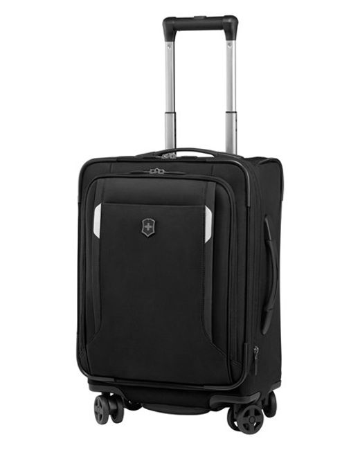 Victorinox | Black Victorinox Swiss Army 'wt 5.0' Dual Caster Wheeled Carry-on for Men | Lyst