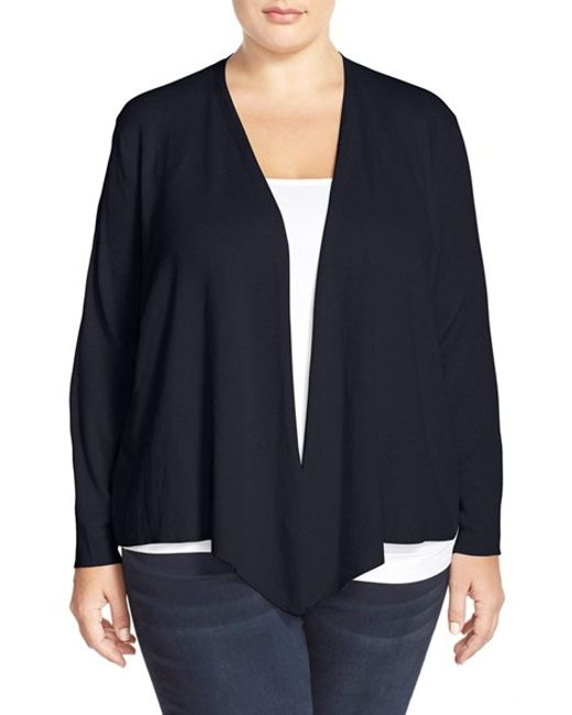 NIC+ZOE | Blue 4-way Convertible Cardigan | Lyst