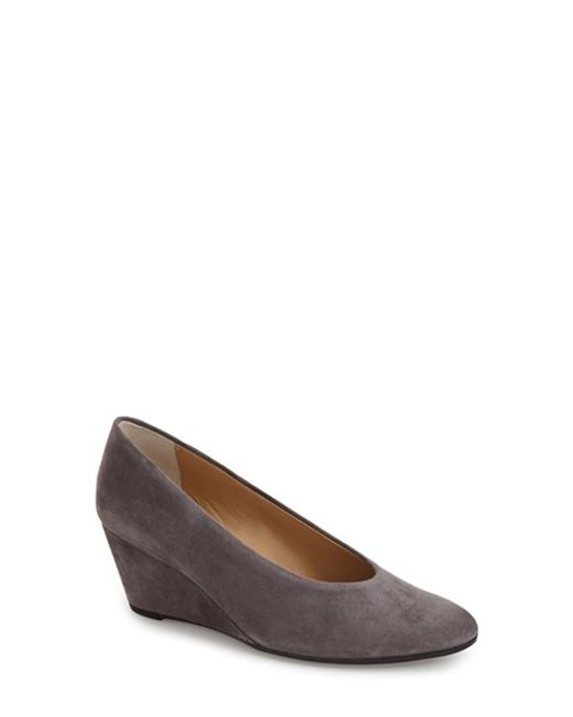 Vaneli | Gray 'dilys' Wedge Pump | Lyst