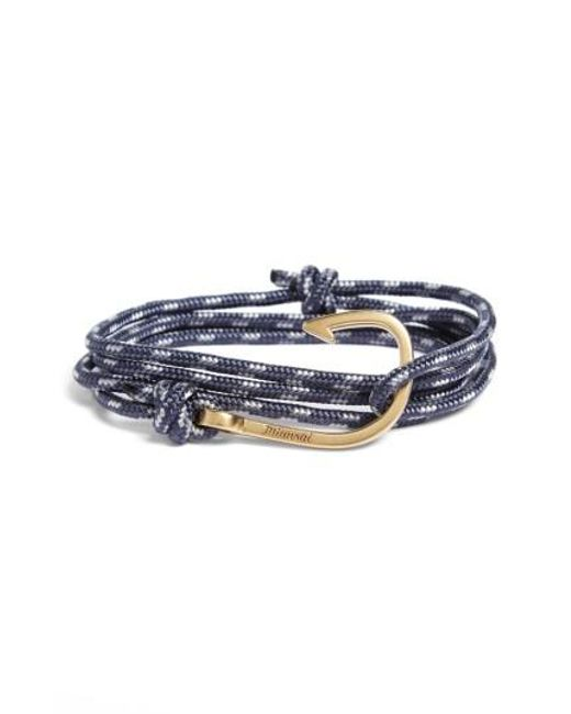 Miansai | Multicolor Hook Rope Wrap Bracelet for Men | Lyst