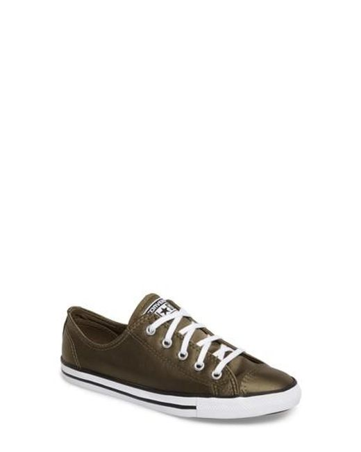 Converse | Multicolor Chuck Taylor All Star 'dainty' Low Top Sneaker | Lyst