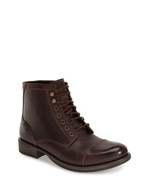 Eastland | Brown 'high Fidelity' Cap Toe Boot for Men | Lyst
