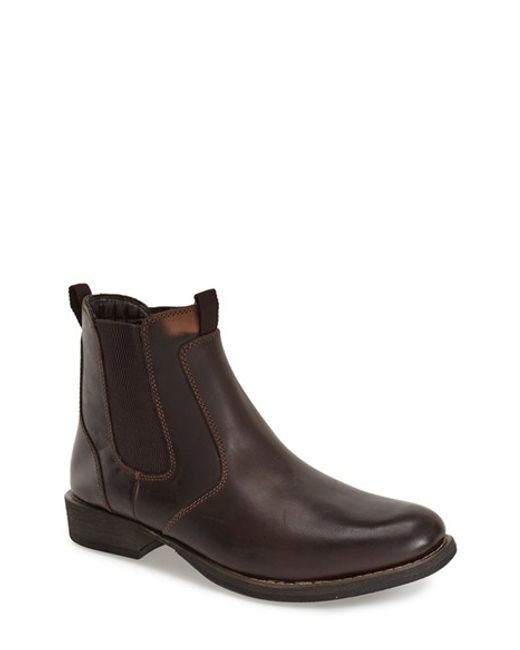 Eastland | Brown 'daily Double' Chelsea Boot for Men | Lyst