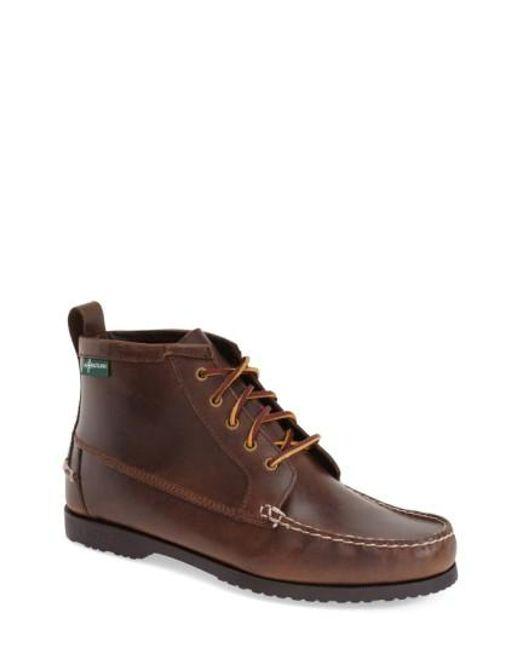 Eastland | Brown 'dylan 1955' Moc Toe Boot for Men | Lyst