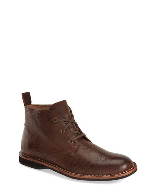 Andrew Marc | Brown 'dorchester' Chukka Boot for Men | Lyst