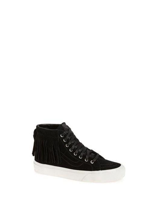 Vans | Black 'sk8-hi' Moc Sneaker | Lyst