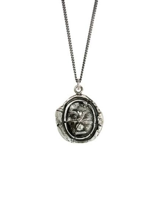 Pyrrha   Metallic Winged Heart Talisman Necklace   Lyst