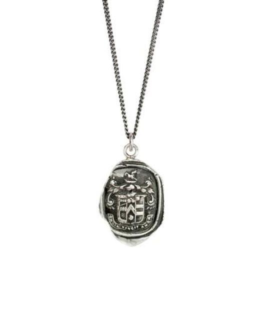Pyrrha | Metallic Love Conquers All Talisman Necklace | Lyst