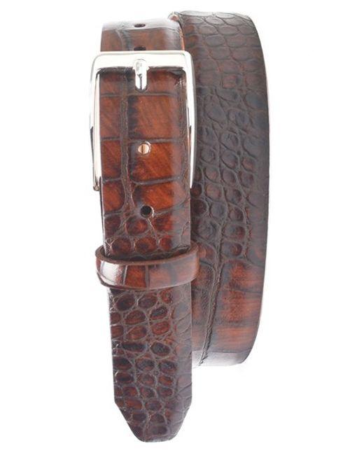 Martin Dingman | Brown 'anthony' Leather Belt for Men | Lyst