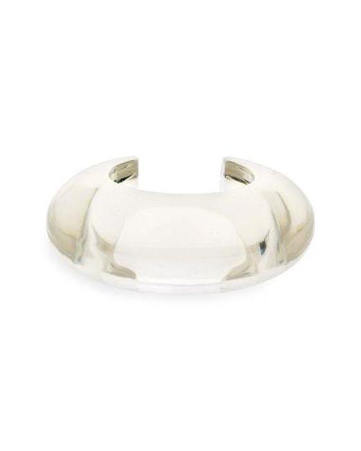 Lizzie Fortunato - Pink Arc Cuff Bracelet - Lyst