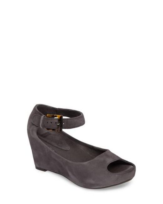 Johnston & Murphy - Yellow 'tricia' Ankle Strap Sandal - Lyst