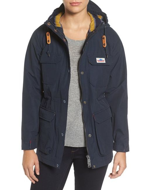 Penfield | Blue 'kasson' Double Layer Mountain Parka | Lyst