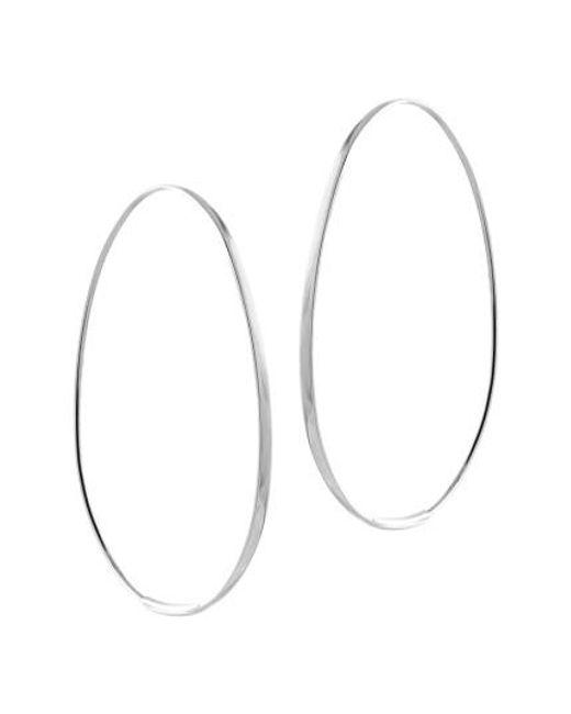 Lana Jewelry | Metallic Bond Endless Hoop Earrings | Lyst