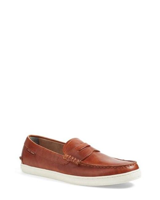Cole Haan | Brown 'pinch' Penny Loafer for Men | Lyst