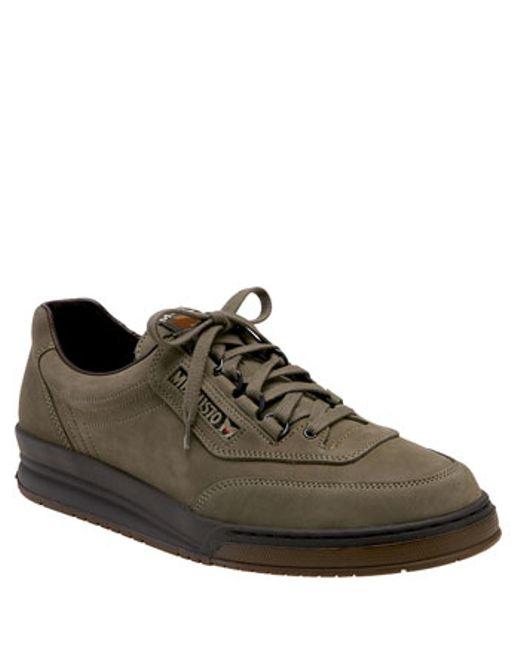 Mephisto | Brown 'match' Walking Shoe for Men | Lyst