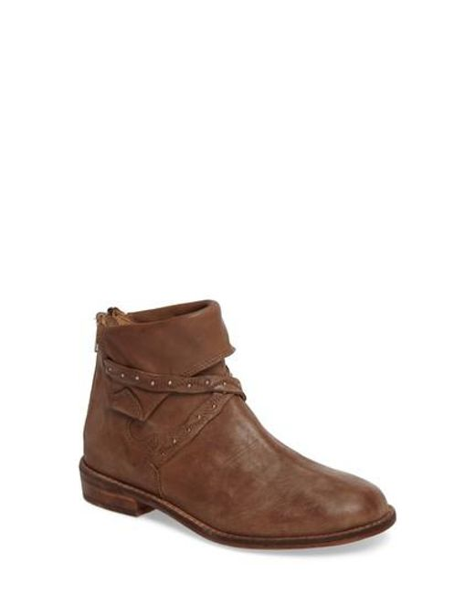 Free People | Brown Alamosa Slouchy Bootie | Lyst