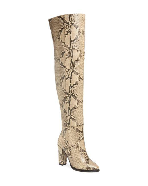 Alias Mae Natural Alla Over The Knee Boot