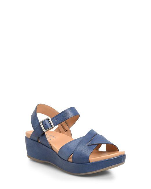 Kork-Ease Blue Kork-ease 'myrna 2.0' Cork Wedge Sandal