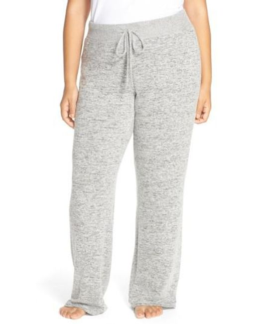 Make + Model | Gray 'best Boyfriend' Brushed Hacci Lounge Pants | Lyst