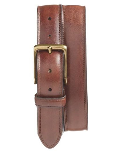 Bosca | Brown The Jefferson Leather Belt for Men | Lyst