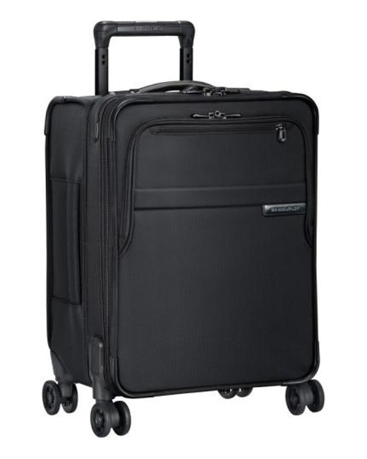 Briggs & Riley | Black 'baseline - Commuter' Expandable Rolling Carry-on for Men | Lyst