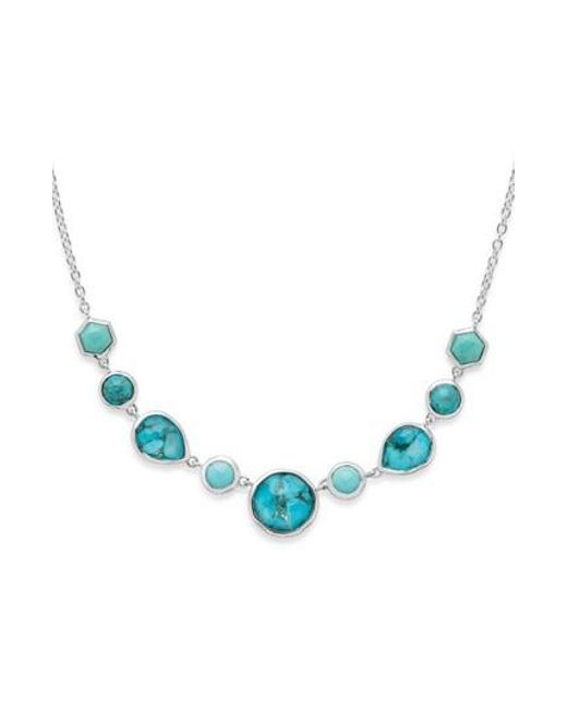 Ippolita - Blue Rock Candy Frontal Necklace - Lyst