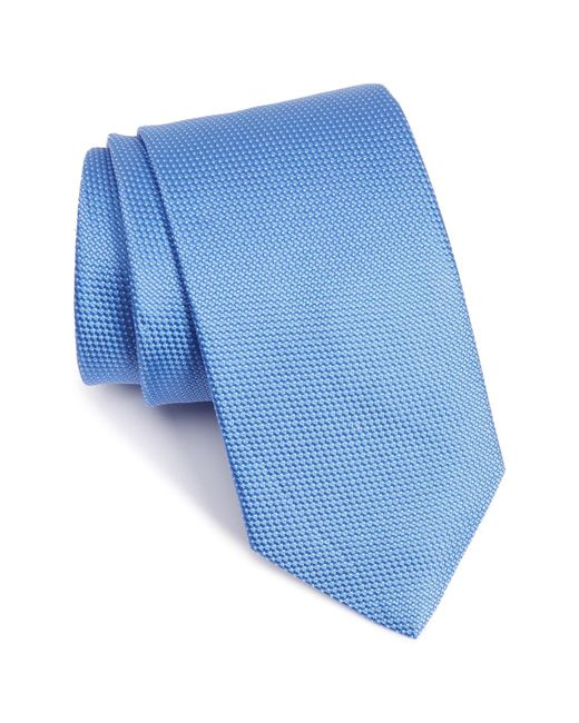 Eton of Sweden - Blue Microdot Silk Tie for Men - Lyst