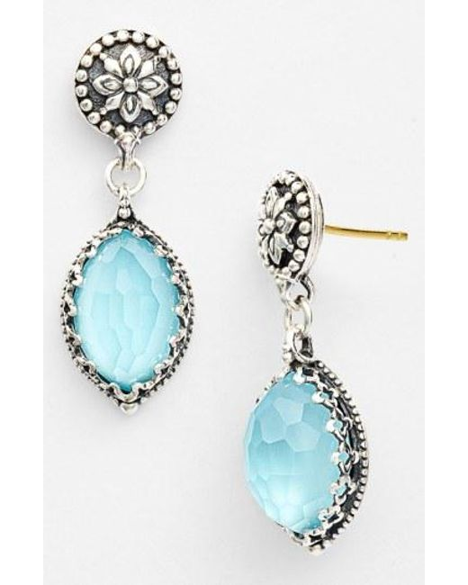 Konstantino - Blue 'aegean' Drop Earrings - Lyst