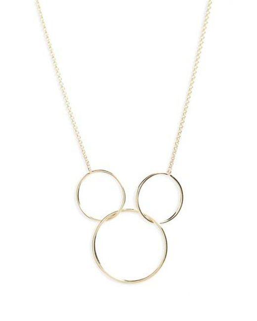 Bony Levy - Metallic Pendant Necklace (nordstrom Exclusive) - Lyst