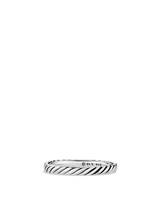 David Yurman - Multicolor 'cable Classics' Band Ring - Lyst