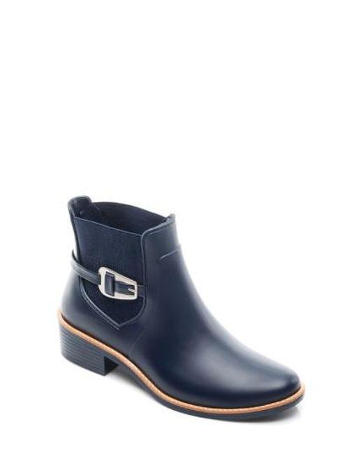 Bernardo | Blue Pansie Rain Boot | Lyst