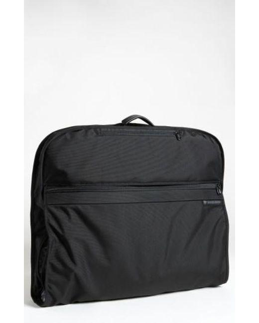 Briggs & Riley | Black 'baseline - Classic' Garment Cover for Men | Lyst