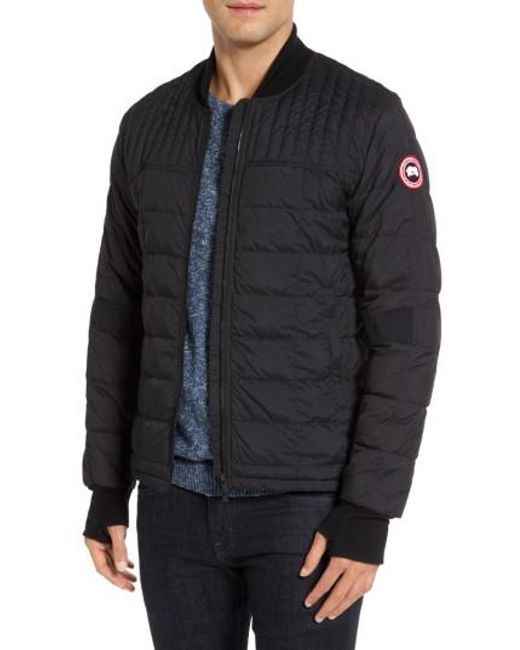 canada goose bomber jacket nordstrom