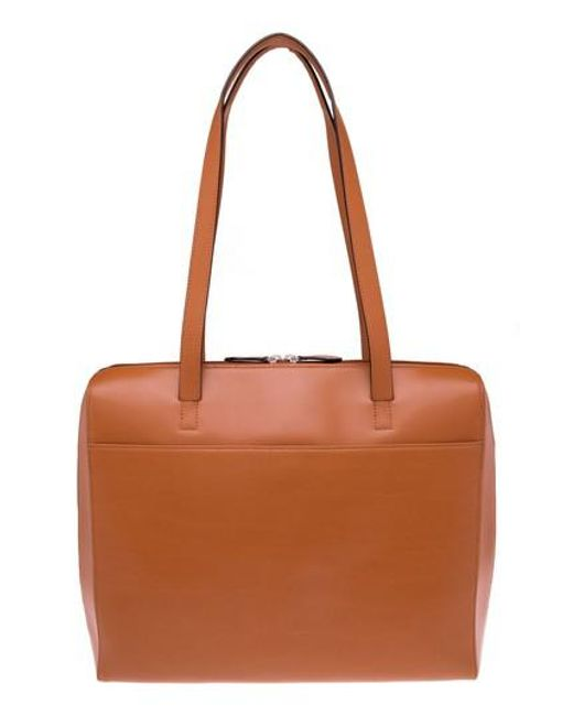 Lodis   Brown 'audrey Collection - Organizer' Tote With Shoulder Strap   Lyst
