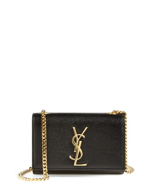 391f7982eb2 Lyst - Saint Laurent  Mini Cassandre  Crossbody Bag in Natural ...
