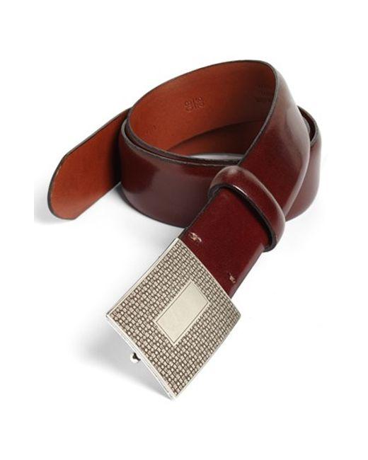 Bosca | Brown Leather Belt for Men | Lyst