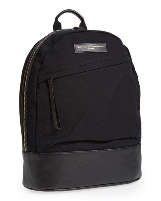 Want Les Essentiels De La Vie | Black 'kastrup' Backpack for Men | Lyst