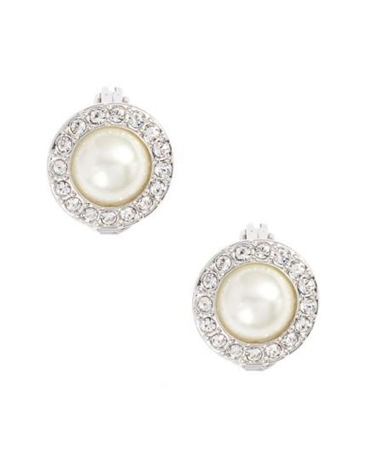 Givenchy | Metallic Imitation Pearl Stud Earrings | Lyst
