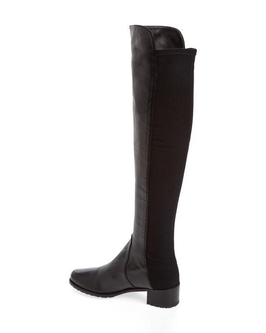 Stuart Weitzman Brown Reserve Suede Over-The-Knee Boots