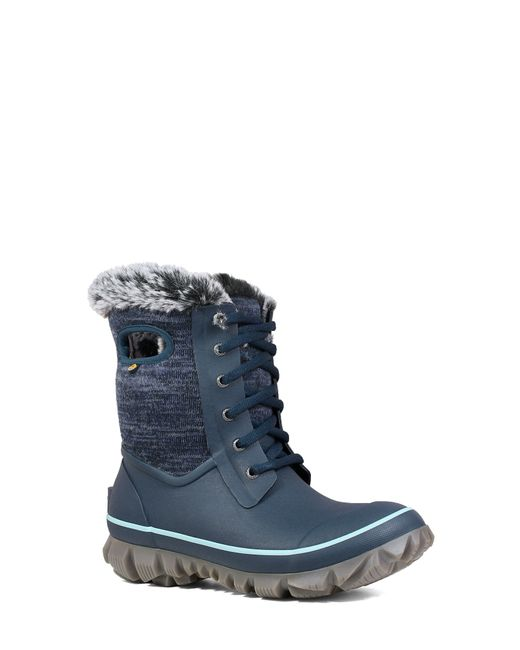 Bogs Blue Arcata Insulated Waterproof Snow Boot