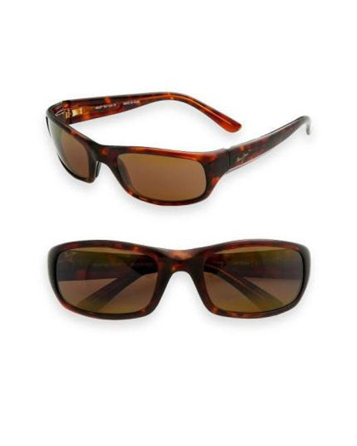 Maui Jim   Brown 'stingray - Polarizedplus2' 56mm Sunglasses for Men   Lyst