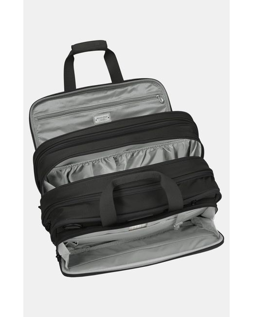 Briggs & Riley Green Baseline 17-inch Expandable Cabin Bag